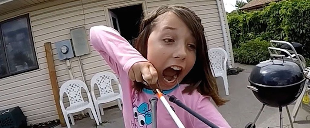Hilarious Slow-Motion Video Shows Girl Shooting Her Tooth Out With a Bow and Arrow