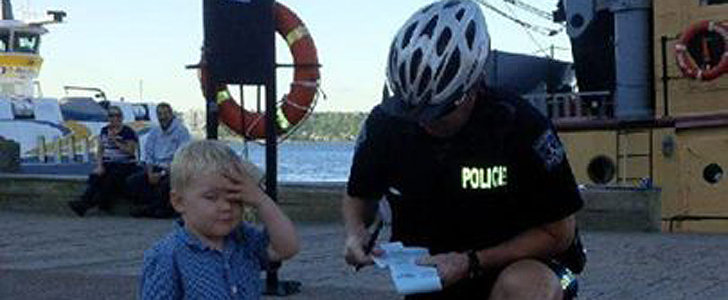 A Boy Gets a Parking Ticket and His Reaction Is Exactly What You'd Expect