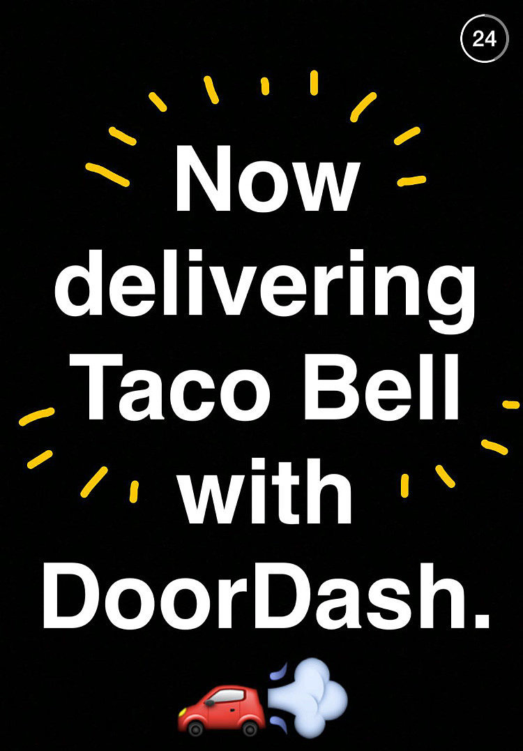 Taco Bell Delivery Service Popsugar Food