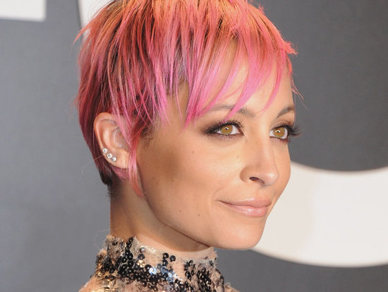 Nicole Richie Debuts New Platinum Hair At House Of Harlow Pop-Up Shop