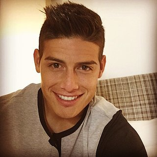 James Rodriguez's Smile Instagrams