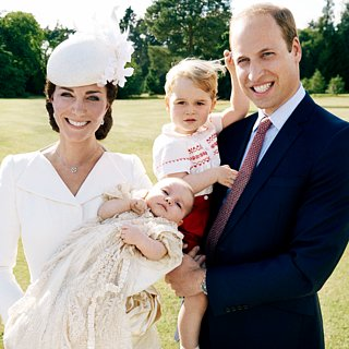 Princess Charlotte Is a Natural in Front of the Camera in First Official Christening Portraits