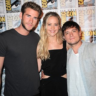 Jennifer, Josh, and Liam Have the Cutest Comic-Con Reunion!