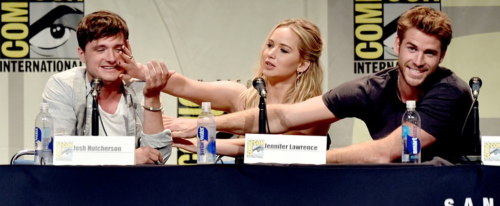 Jennifer, Josh and Liam Have the Cutest Comic-Con Reunion!