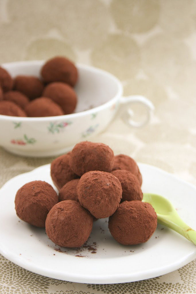 Balsamic Chocolate Truffles