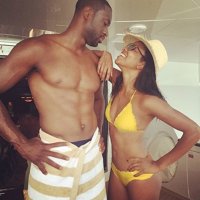 Gabrielle and Dwyane only had eyes for each other on a Summer 2015 trip.