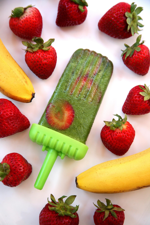 Green Smoothie Popsicles | POPSUGAR Fitness