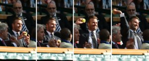 David Beckham Catches a Stray Ball at Wimbledon — See the Hilarious GIFs!