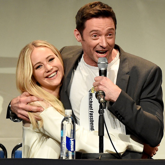 Jennifer Lawrence Holds Hugh Jackman on Her Lap in Comic-Con's Cutest Moment