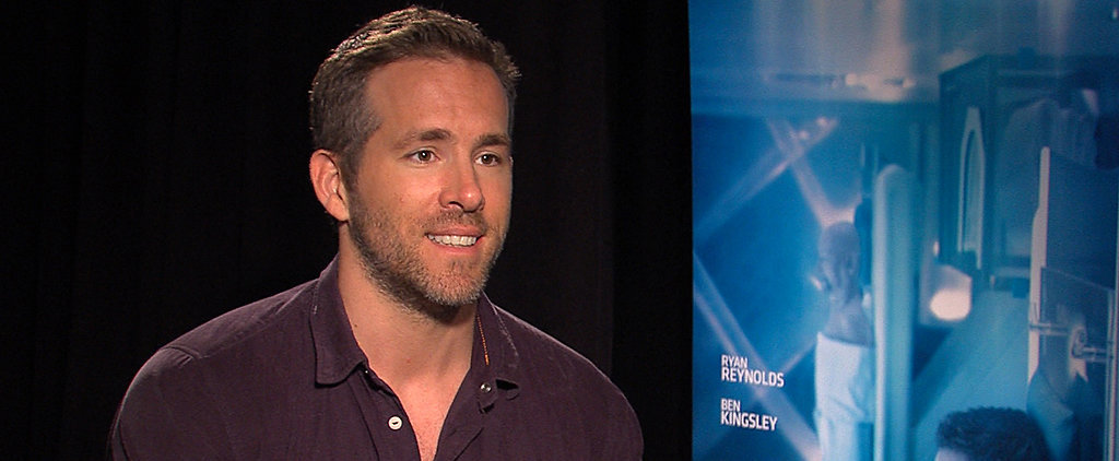 Ryan Reynolds Confesses He Can't Remember Life Before Baby James