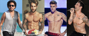 16 heiße Promi-Männer stehen total auf Tattoos