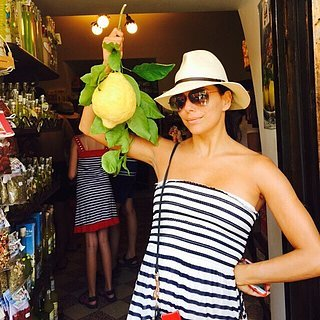 Eva Longoria's Italy Vacation 2015