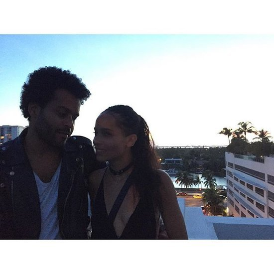 Zoë Kravitz's New Boyfriend Looks Distractingly Like Her Dad, Lenny