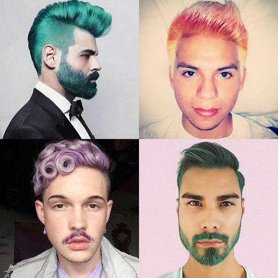 21 Hot Guys Brave Enough to Rock Rainbow Hair