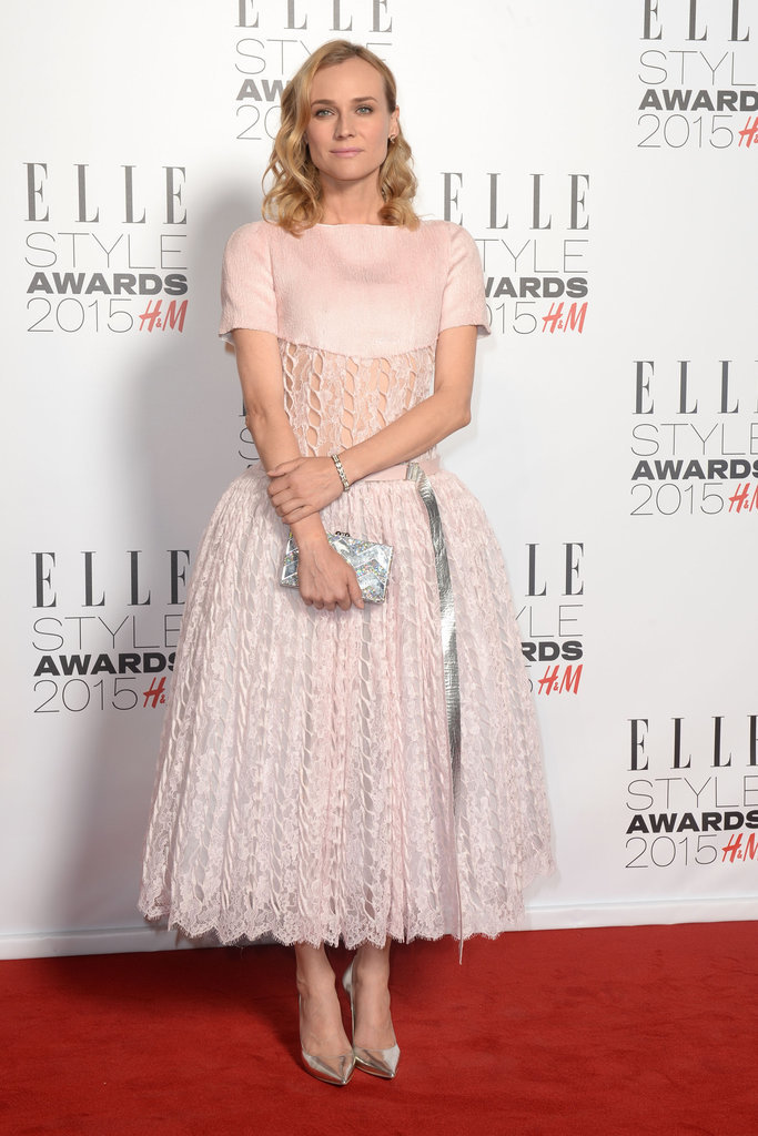 The actress looked like a fairy princess at the 2015 Elle Style Awards in this Chanel Couture dress.