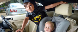 This Isn't a Joke: Boy Dressed as Batman Saves Baby Trapped in Car