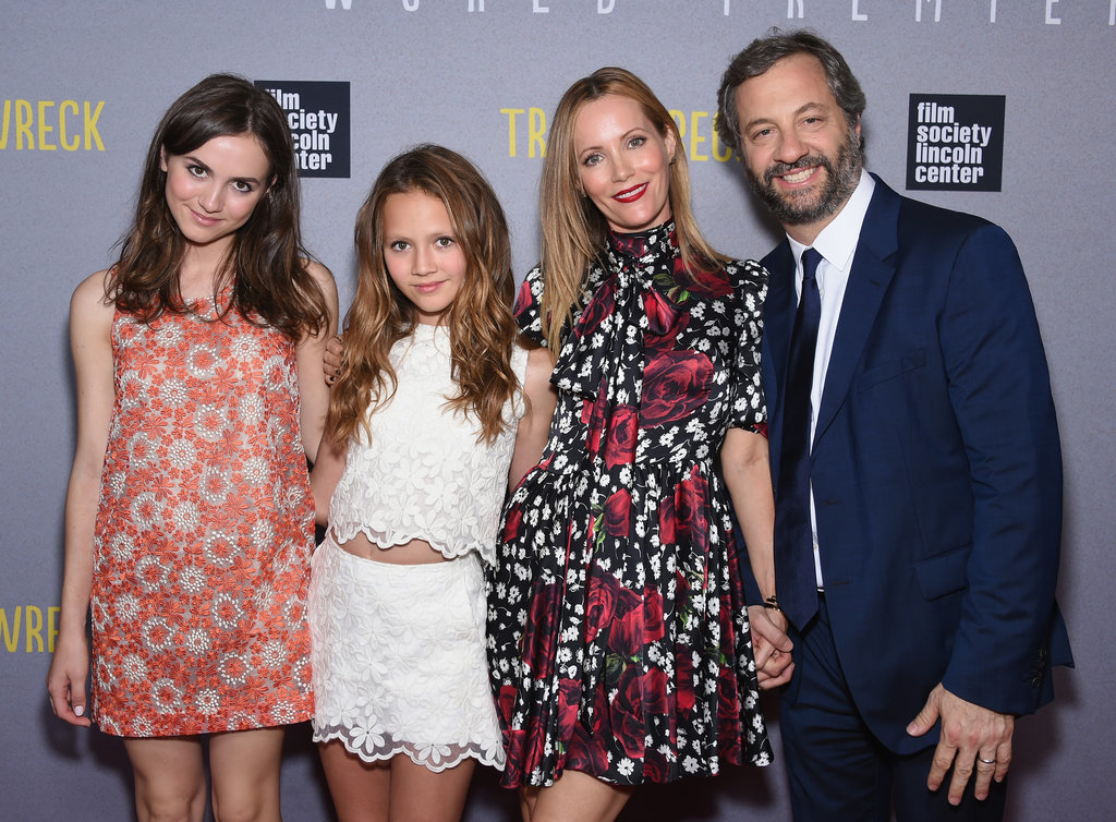 Leslie Mann and Judd Apatow's Cutest Family Pictures ...