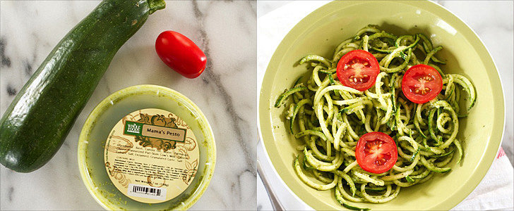 3-Ingredient Summer Pesto Zucchini Noodles