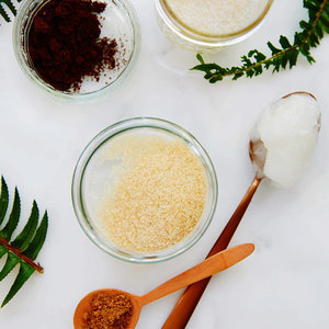 How to Make Sugar Cocoa and Coffee Body Scrub
