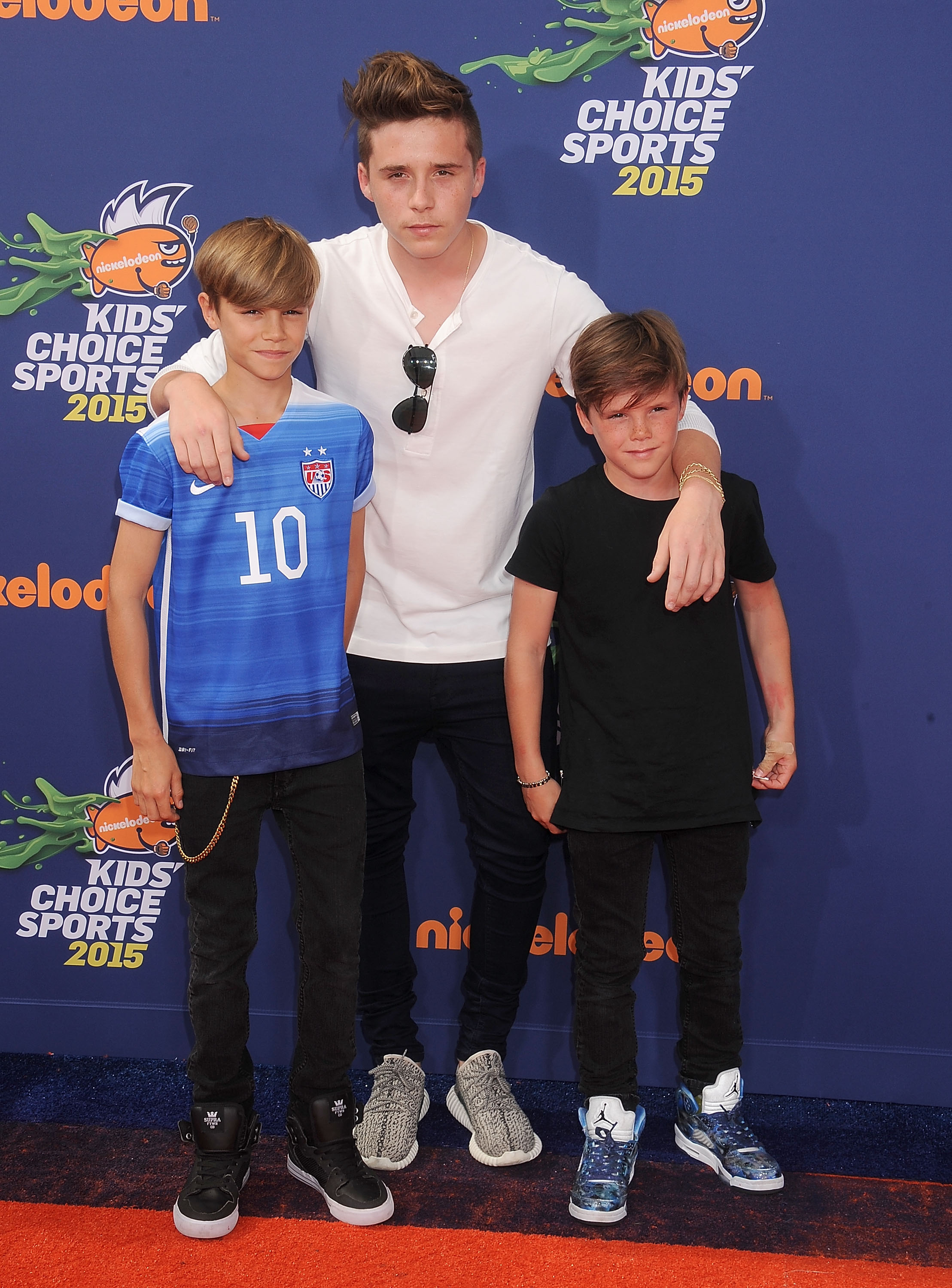 The Beckham Boys Are the Epitome of Cool at the Kids' Choice Sports Awards