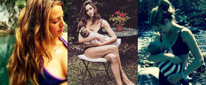 Blake Lively, Nicole Trunfio and More Share Their Beautiful Breastfeeding Photos