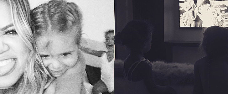 North West and Penelope Disick Spent the Sweetest Night With Khloé Kardashian