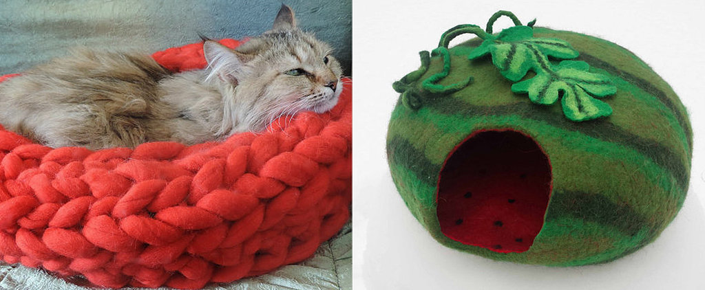 16 Stylish, Handmade Beds For Your Favorite Feline