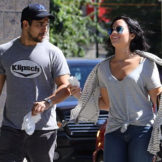 Demi Lovato and Wilmer Valderrama Hang Out in Vancouver