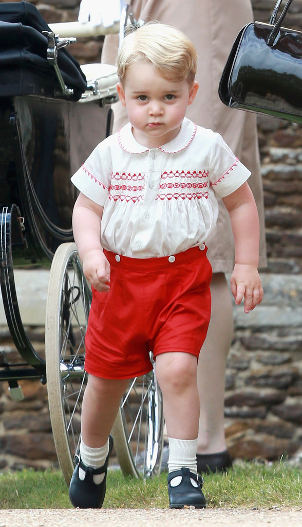 "Prince William on George's personality: ""He's a little monkey."" Prince Charles on how he's a handful: He told reporters that Princess Charlotte sleeps through the night and it's been much easier on Kate than it was with Prince George. William on his son's energy: He said Prince George ""never stops moving."" William on George's first Christmas: ""George will be bouncing around like a rabbit."""