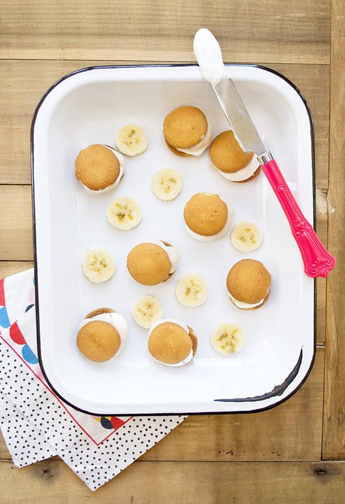 Banana Ice Cream Sandwiches