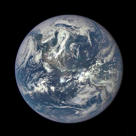 NASA Shares Sunlit Photo of Earth