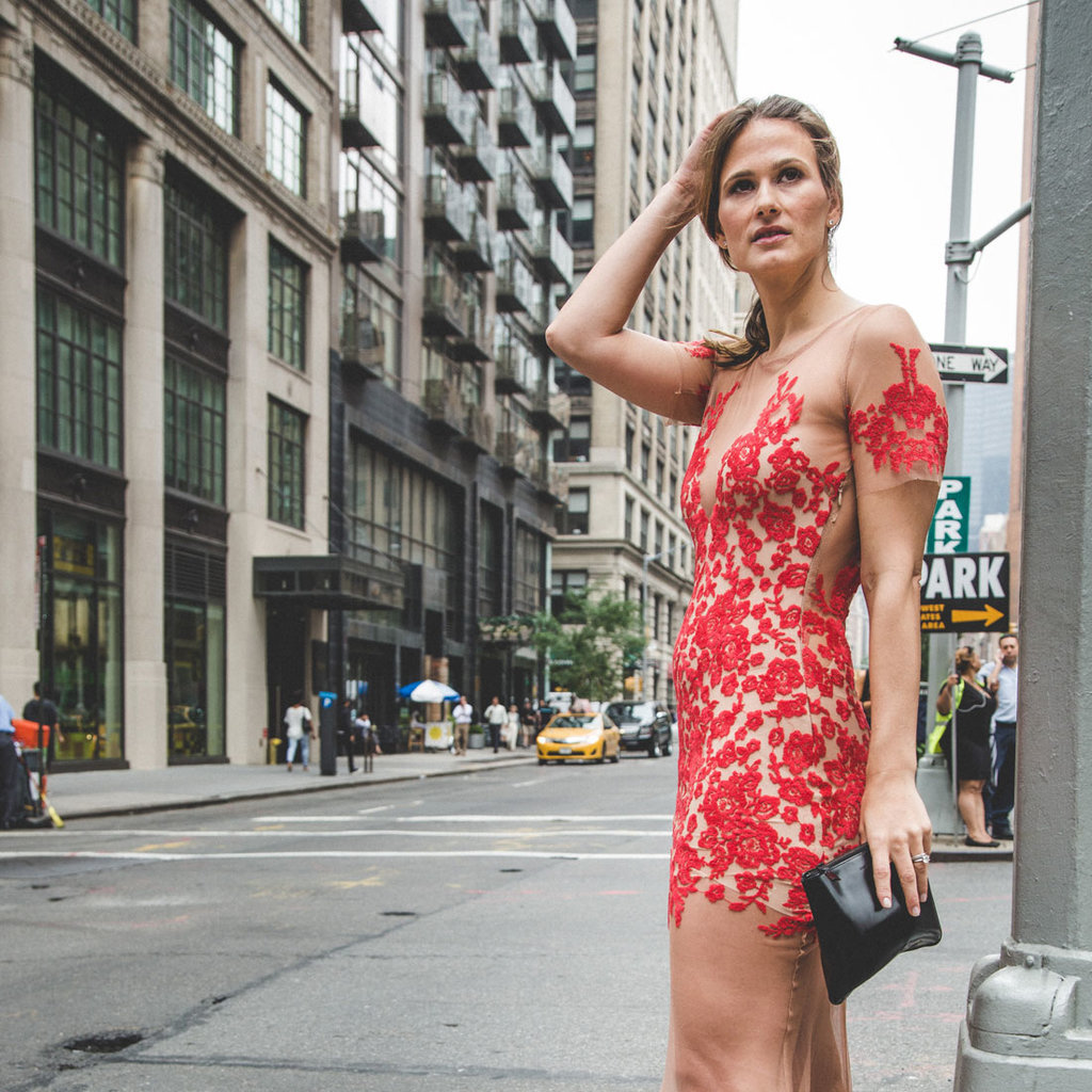 One Woman Wore the Naked Dress IRL, and This Is What She