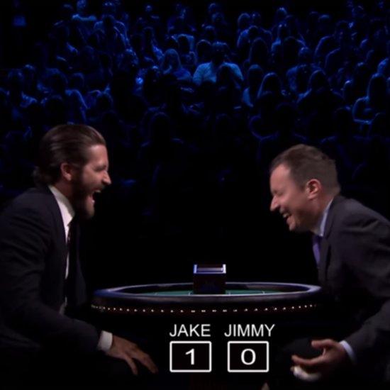 Jake Gyllenhaal Slapjack Game With Jimmy Fallon