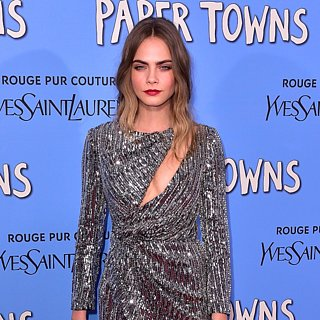 Cara Delevingne Tapis Rouge Paper Towns