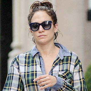 Jennifer Lopez Makeup-Free Pictures