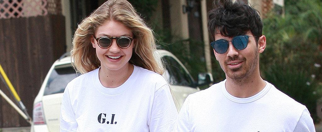 "Gigi Hadid and Joe Jonas Give a Hilarious Nod to Their ""G.I. Joe"" Couple Name"