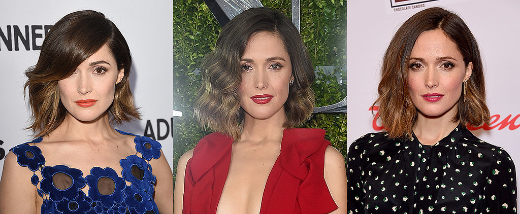 Rose Byrne's Hair Is All the Lob Inspiration You'll Ever Need