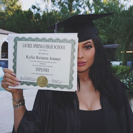 Kylie Jenner's Graduation Party Included Twerking, Synchronized Swimmers, and a Photo Booth