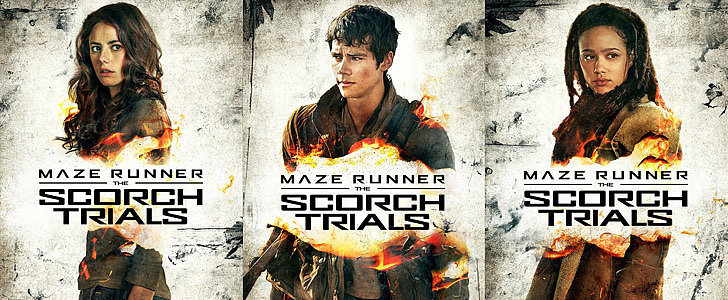 The Scorch Trials Posters Are So Hot That They're Going Up in Flames
