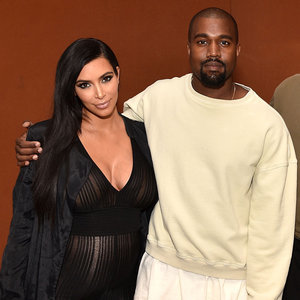 Pictures of Pregnant Kim Kardashian and Kanye West at LACMA