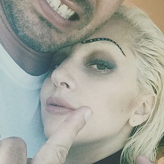 Taylor Kinney and Lady Gaga's Instagram Selfie July 2015