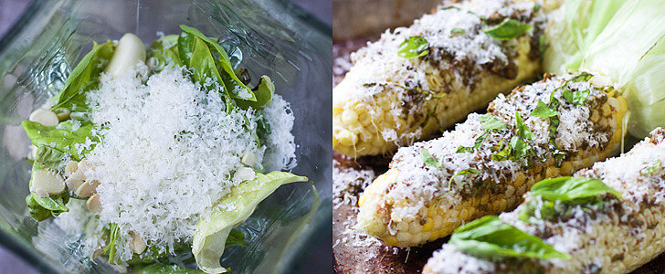 Pesto and Parm Give Grilled Corn a Major Flavor Boost