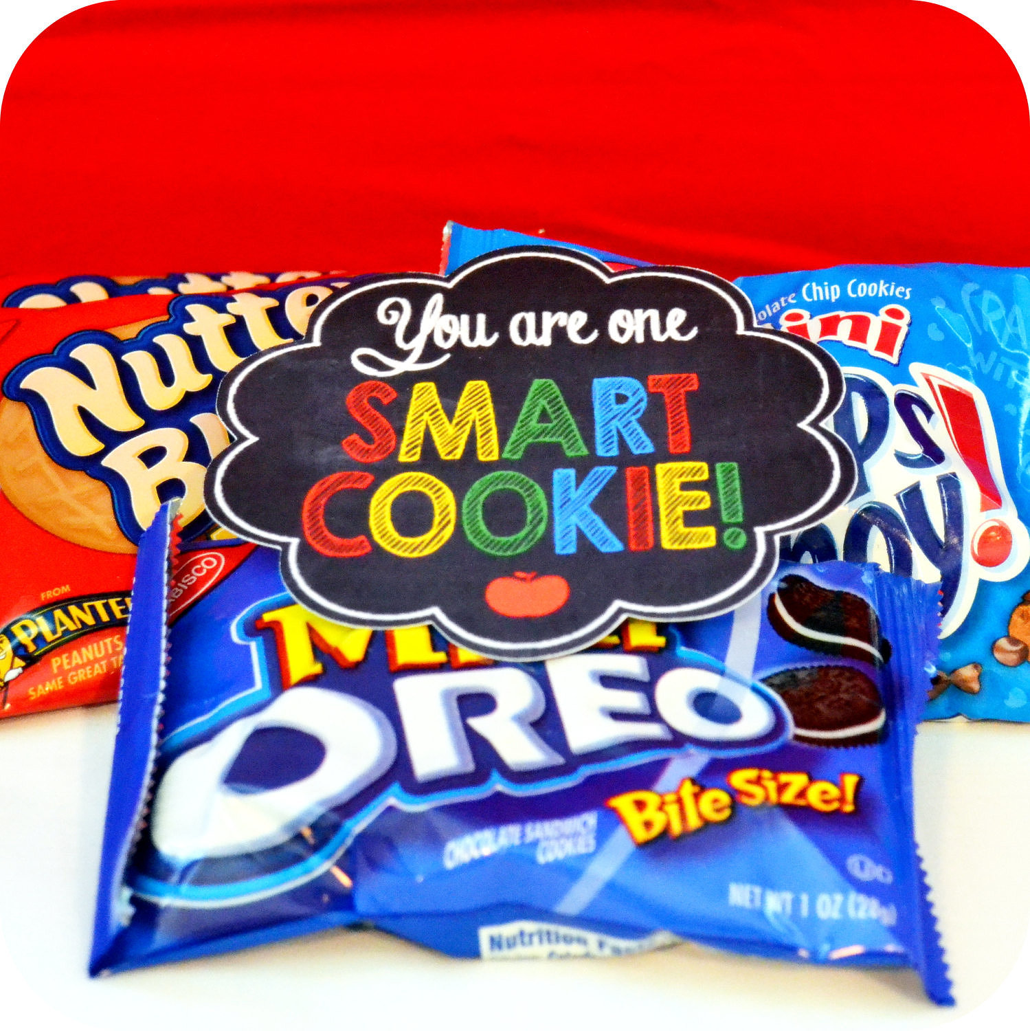 First Day of School Snack Note