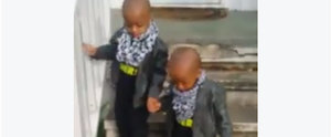 You Need to Stop What You're Doing and Watch How This Toddler Helps His Twin Brother