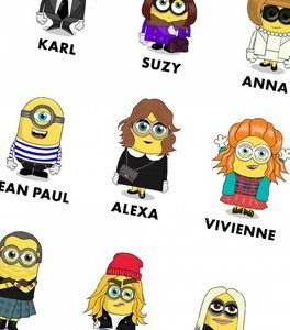 See Anna Wintour, Karl Lagerfeld, and More as Fashion Minions