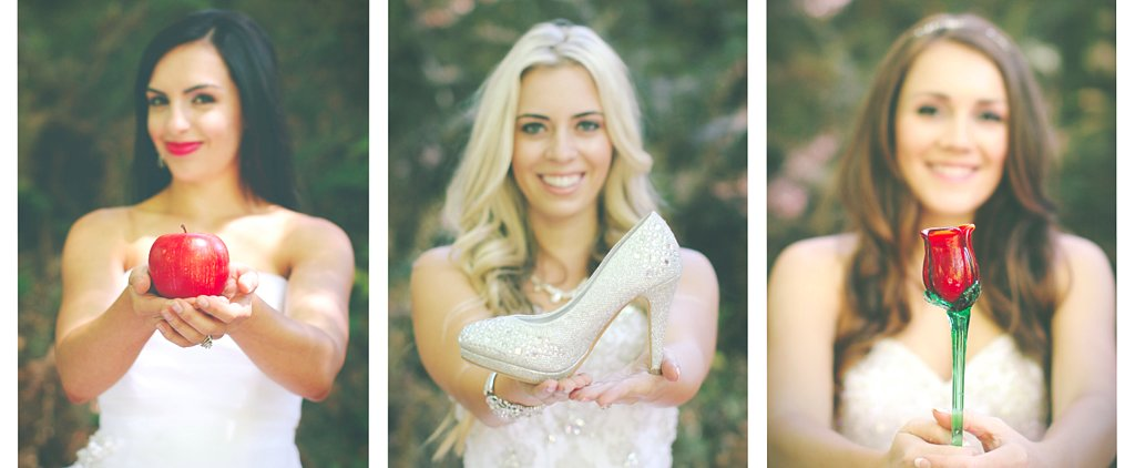 A Gorgeous BFF Bridal Shoot That Proves Disney Princesses Aren't Just a Phase