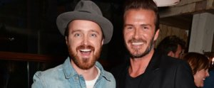 These Celebs Are as Excited About Meeting David Beckham as We Would Be