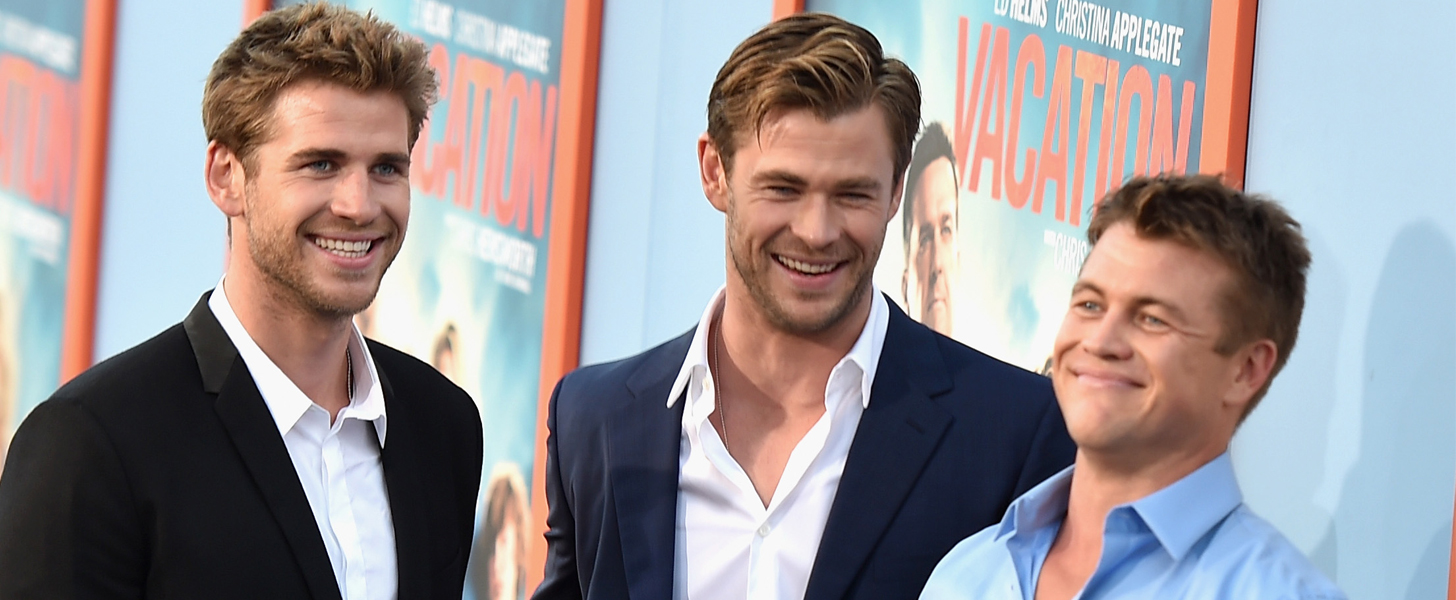 The Hot Hemsworth Brothers Make a Cute Red Carpet Appearance Together