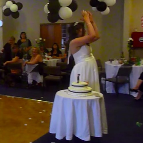This Flower Toss Wedding Fail Will Make You Cringe
