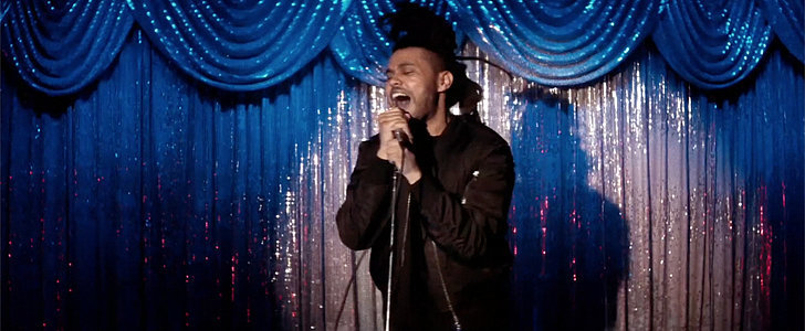 "The Weeknd Busts a Move Then Catches Fire in the ""Can't Feel My Face"" Video"